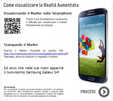 Samsung Galaxy S IV: provatelo a casa con la realtà aumentata!