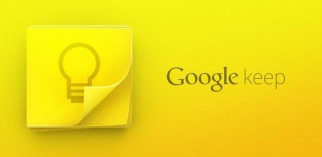 Google Keep si aggiorna alla versione 2.3 introducendo il supporto ad Android Wear