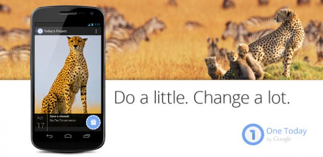 Google rilascia One Today, un'app filantropica