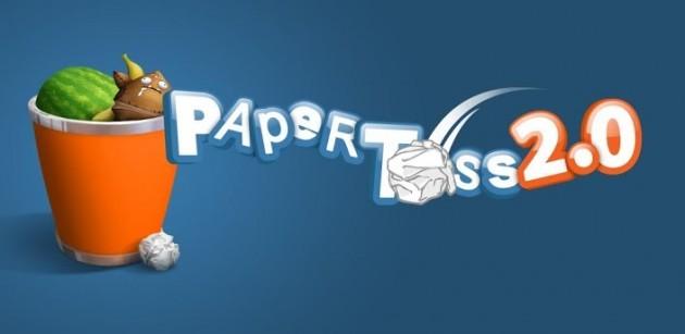 Paper Toss 2.0 arriva ufficialmente sul Play Store