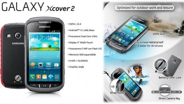 Samsung Galaxy XCover 2: in arrivo in Italia a Maggio al prezzo di 279€