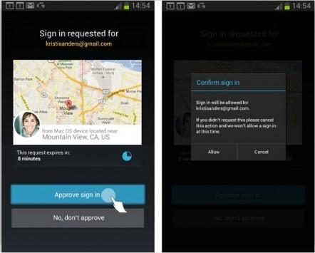 Google: in arrivo su Android il sistema di autenticazione in due passaggi