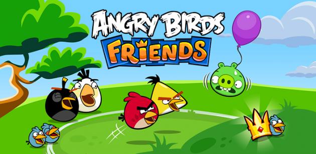 Angry Birds Friends: sfida i tuoi amici in nuovi livelli