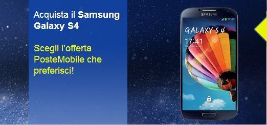 Samsung Galaxy S4: svelate le tariffe ufficiali per l'acquisto con Poste Mobile