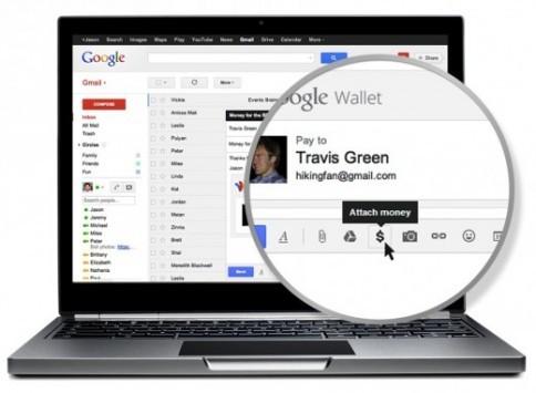 Google Wallet permetterà l'invio di pagamenti tramite Gmail