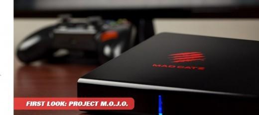Mad Catz  Project M.O.J.O permetterà lo streaming videoludico dal pc alla TV