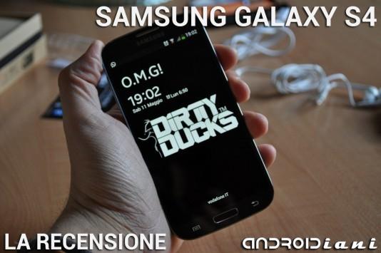 Samsung Galaxy S4 - La recensione di Androidiani.com
