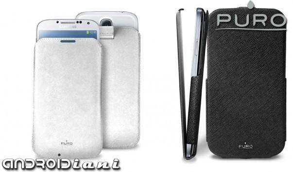 Custodia Slim Essential e Flipper per Galaxy S4 di PURO
