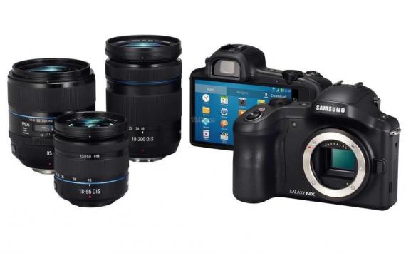 Samsung Galaxy NX Camera a 1300£ in Inghilterra