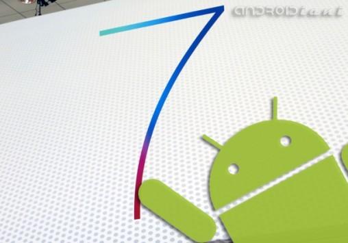 Android Vs iOS 7: l'innovazione di Apple è il passato per Google [HUMOR INSIDE]