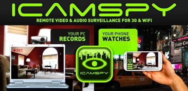 iCamSpy: un'app per tenere sotto controllo casa e ufficio con Android