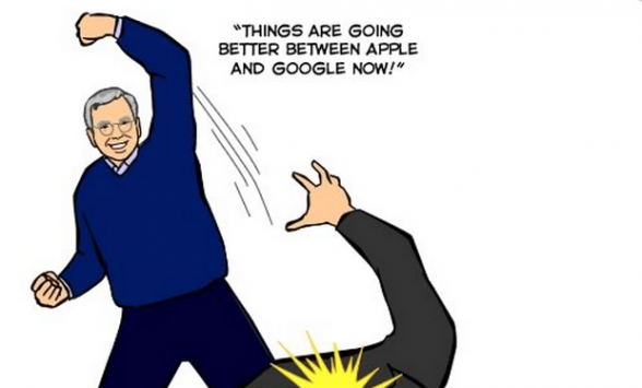 [Humor] Google e Apple, è l'ora della distensione...forse