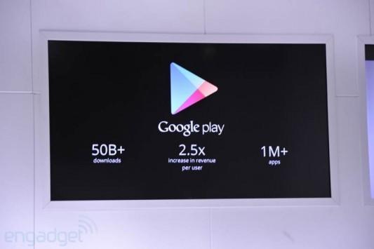 Google: 70 milioni di tablet Android e 50 miliardi di app scaricate