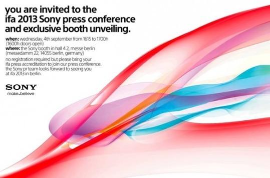 Sony distribuisce gli inviti per l'evento del 4 Settembre: in arrivo il Sony 'Honami' i1?
