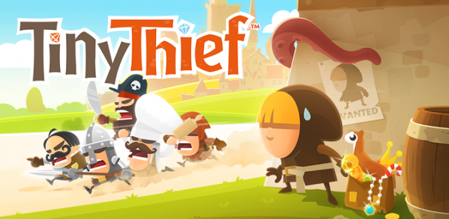 Tiny Thief ufficialmente disponibile sul Google Play Store