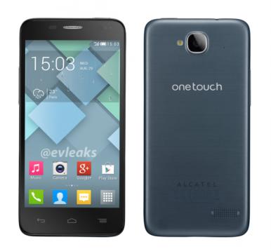 Alcatel One Touch Idol Mini: ecco il primo render