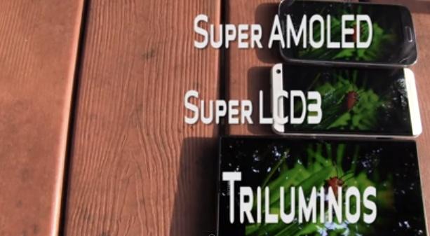 Display Super AMOLED vs Super LCD 3 vs Triluminos: confronto tra display