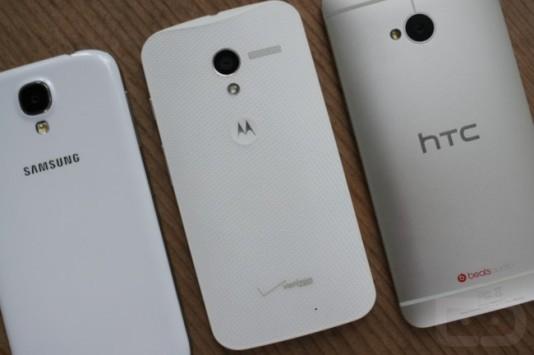 Motorola Moto X vs Samsung Galaxy S4 vs HTC One: ecco un nuovo video confonto