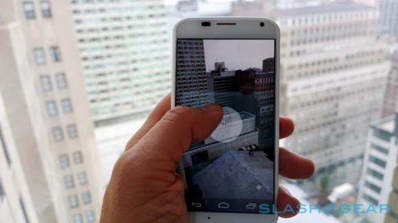 La fotocamera di Moto X supporta la registrazione in Ultra-HD