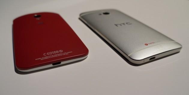 Motorola Moto X vs HTC One 'Google Edition': ecco un video confronto