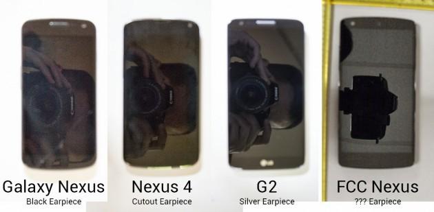 Dal Samsung Galaxy Nexus all'LG Nexus 5: ecco un confronto dimensionale