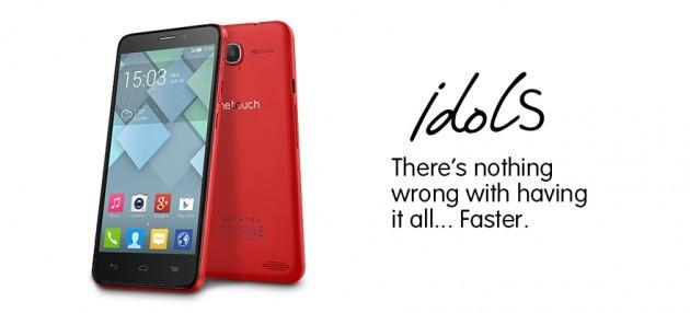 Alcatel annuncia ufficialmente One Touch Idol S e One Touch Idol Mini