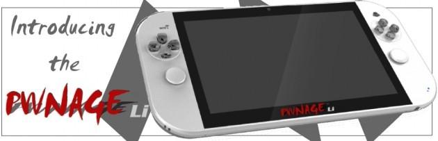 PWNAGE Li, una nuova console per gamer con Android a bordo