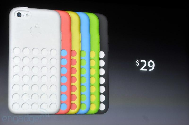 Cover ufficiali Apple per iPhone 5C