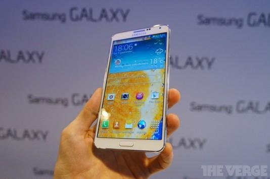 Samsung presenta ufficialmente il Galaxy Note 3