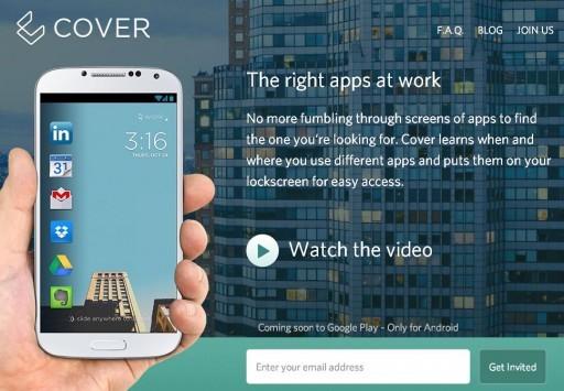Cover: ecco una nuova lockscreen che si adatta alle nostre esigenze