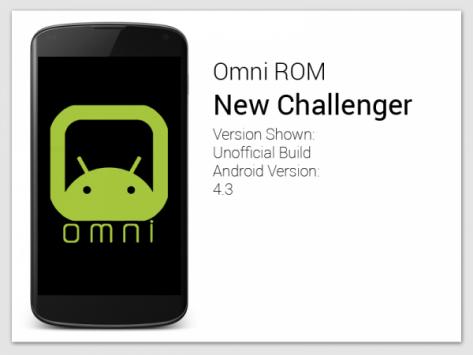 OmniROM: ecco le prime nightly della custom ROM basata su Android 4.4
