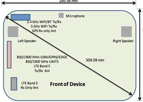 Il Samsung SM-P905, ovvero il Galalxy Note 12.2, passa alla FCC