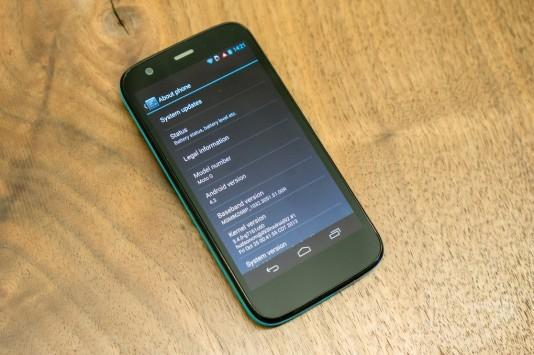 Moto G porta Motorola al 6% del mercato britannico, secondo Kantar