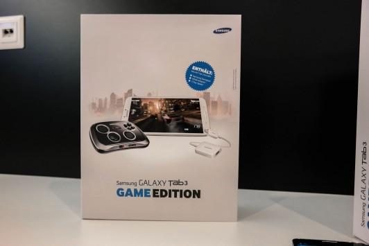 Samsung Galaxy Tab 3 8.0 Game Edition arriverà in bundle con il Samsung GamePad