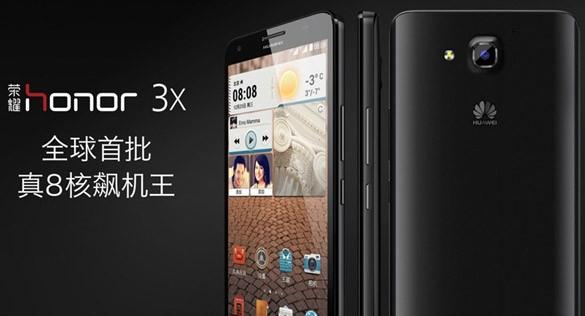 Huawei annuncia ufficialmente Honor 3X e Honor 3C