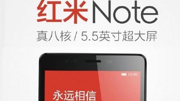 Xiaomi Redmi Note, le caratteristiche tecniche appaiono su AnTuTu