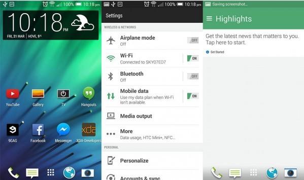 HTC porterà Sense 6.0 su One 2013, One Mini e One Max