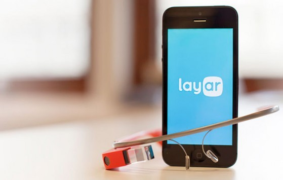 Layar introduce un'app per la realtà aumentata sui Glass