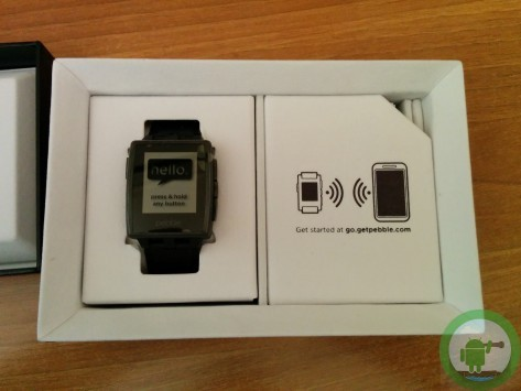 Pebble Steel: unboxing di Androidiani.com