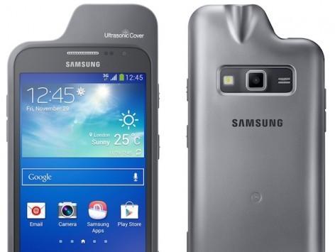 Samsung, una cover a ultrasuoni per Galaxy Core Advance