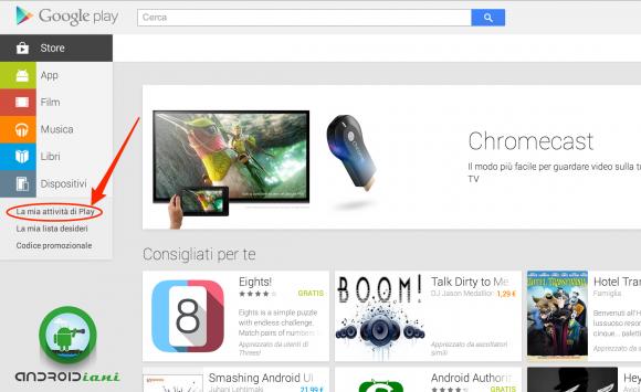 Google Play su Web aggiunge