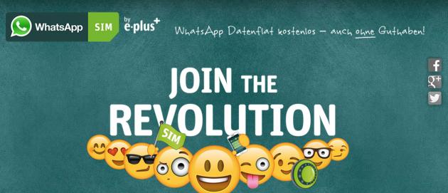 WhatsApp lancia in Germania la propria SIM prepagata