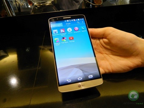 LG G3: Anteprima dall'evento Italiano