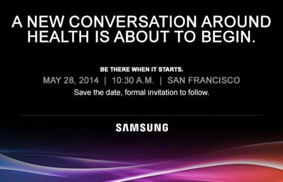 Samsung terrà un evento focalizzato sulla salute il 28 maggio