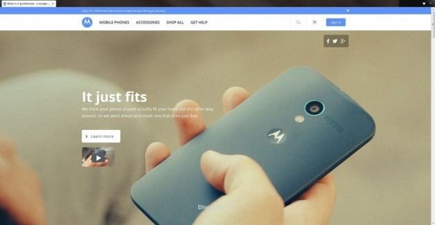 Motorola: confermato da Moto Maker l'arrivo del Moto X+1