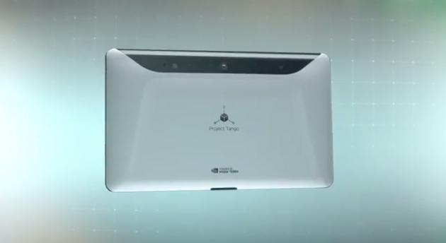 Google annuncia il developer kit per Project Tango: Tablet NVIDIA Tegra K1 e 4GB di RAM
