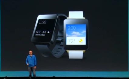 [I/O 2014] LG G Watch e Samsung Gear Live in preordine da oggi sul Play Store