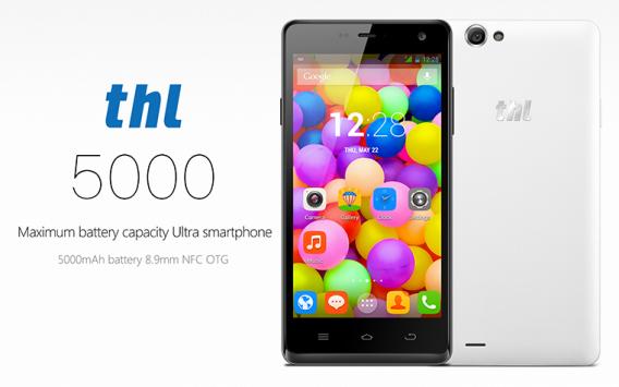 Smartphone con batteria da 5.000 mAh? E' realtà grazie a THL