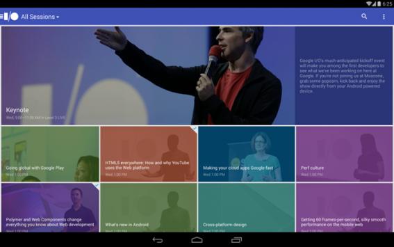 Google: pubblicata sul Play Store l'app ufficiale del Google I/O