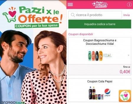 Pazzi per le offerte: coupon e offerte a portata di app